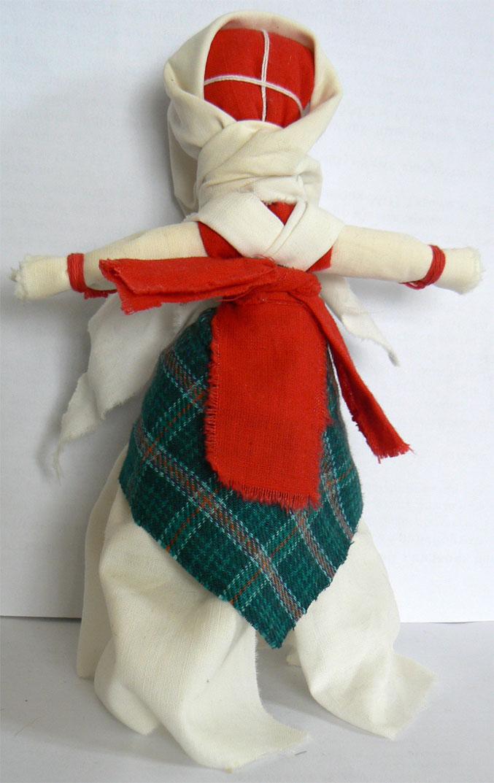 Простой оберег кукла